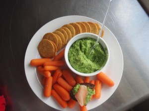 Pea and Hummus Dip